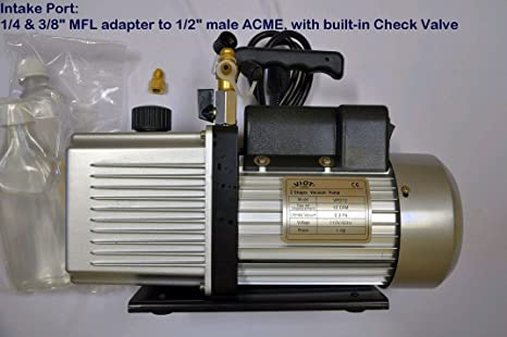 Amazon com: Vpd12: 2-stage Rotary Vane High Performance Deep Vacuum