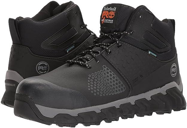 Timberland PRO Men's Ridgework Mid Industrial Boot, Black