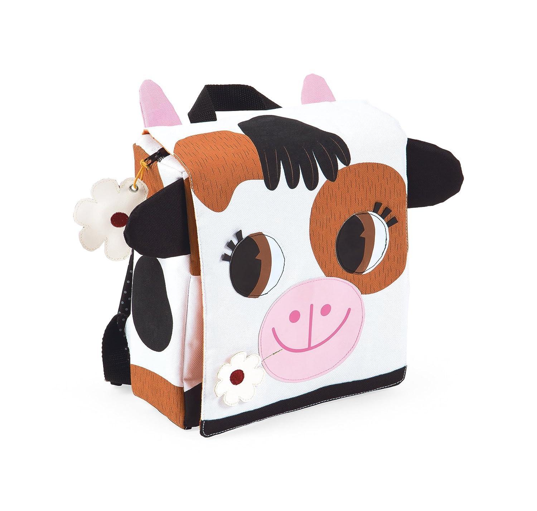 Mochila Infantil vaca, color marrón