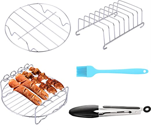 Amazon Com Sik Air Fryer Accessories 5pcs For Gowise Cosori