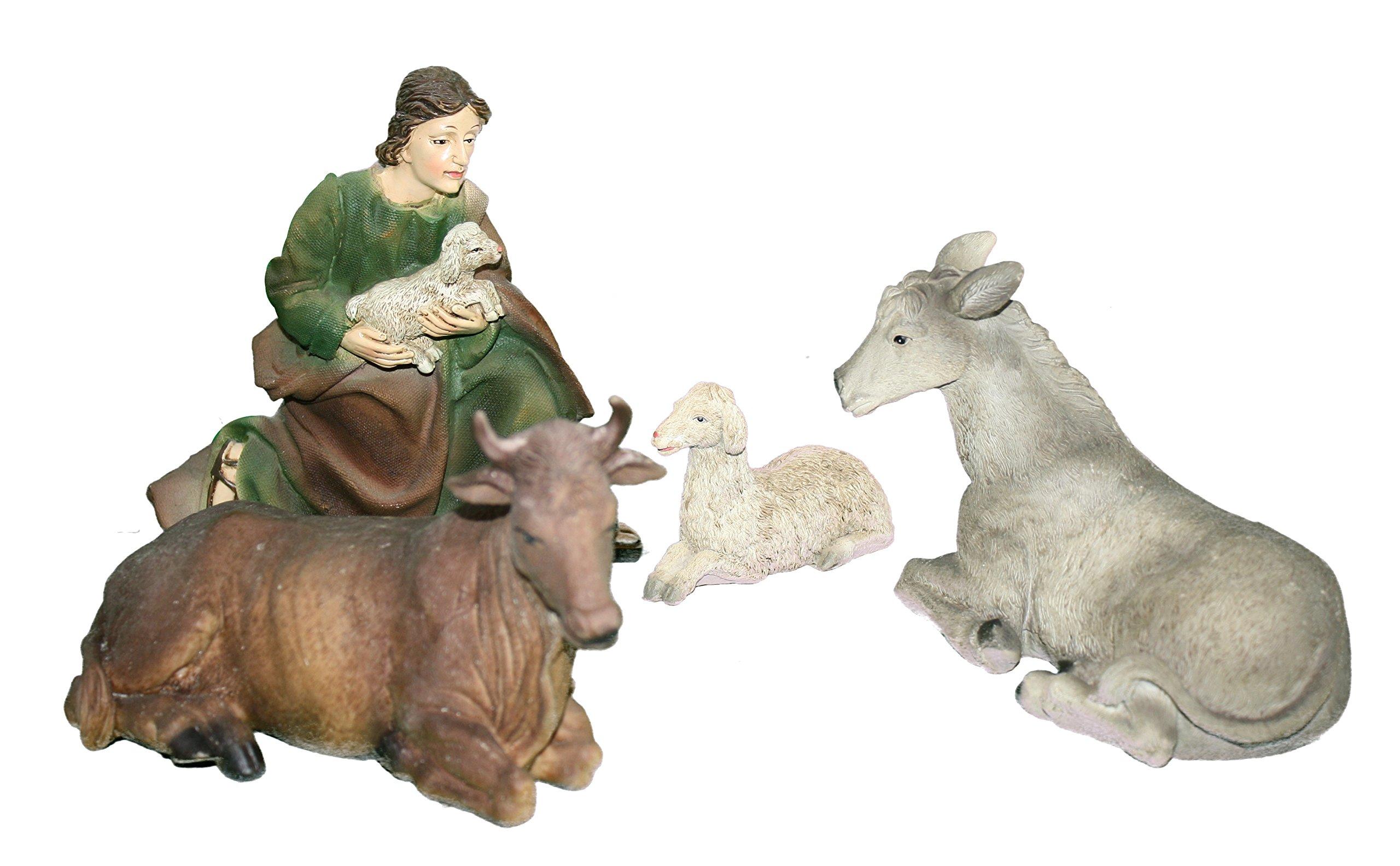 Regency 4.5-8 inch Rsn Shepard & Animals