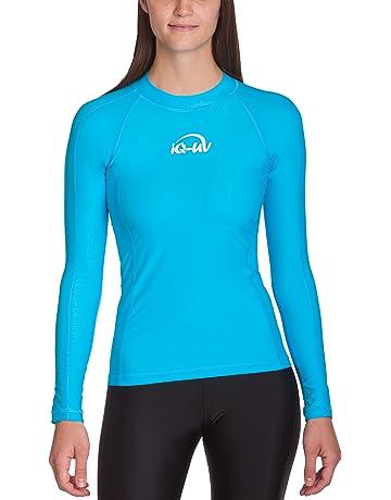 Uv Iq 6661222800 Mujer Protectora Camiseta Bodycon mnvNw0O8