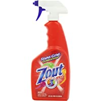 Zout Laundry Stain Remover Spray, Triple Enzyme Formula, 22 Ounce