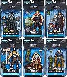 Marvel Legends Thor Ragnarok 6-Inch Action Figures Set Of 6