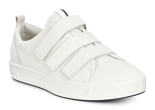 dd2bba79 ECCO Shoes Women's Soft 8-3 Velcro Strap Fashion Sneakers
