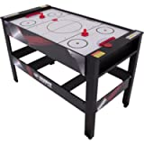 Triumph 4-in-1 Rotating Swivel Multigame Table – Air Hockey, Billiards, Table Tennis, and Launch Football