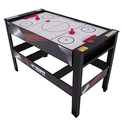 922cea8bb01 Amazon.com  Triumph 4-in-1 Rotating Swivel Multigame Table – Air Hockey