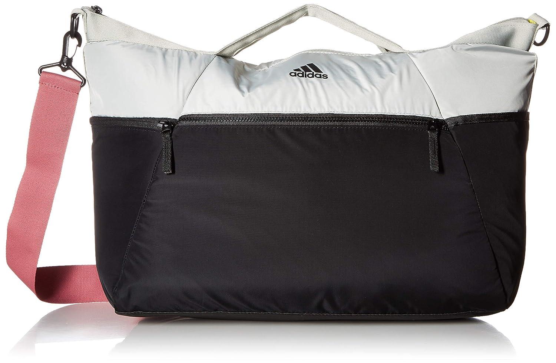 Adidas Studio III Duffel B0783PY8QD Ash Silver/Black/Trace Maroon Pink One Size