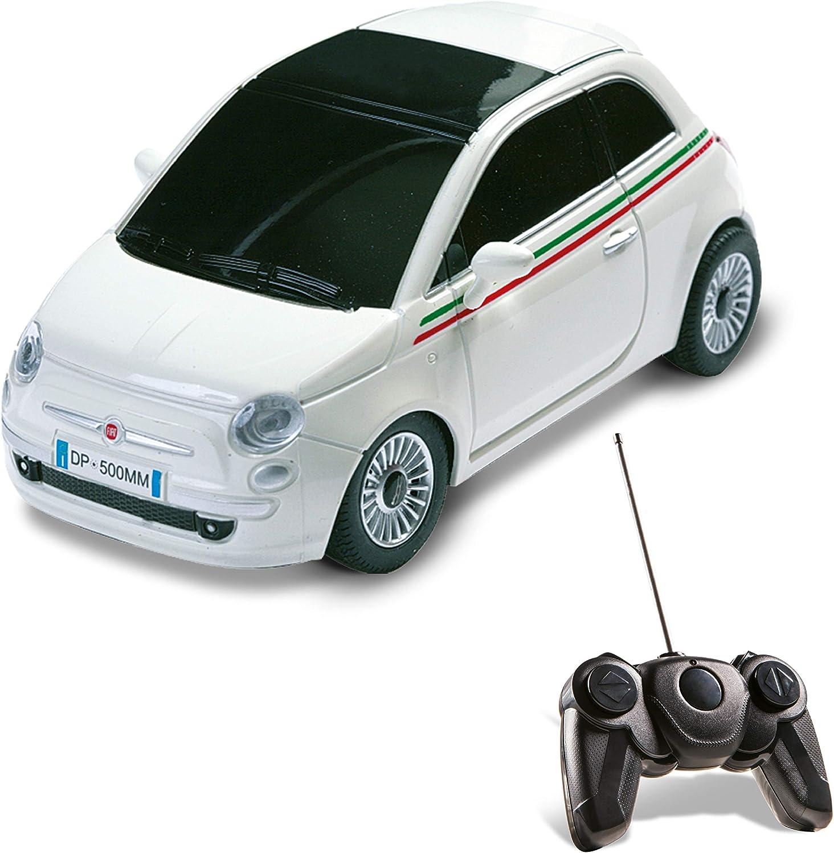 Mondo Motors - Coche con radiocontrol, escala 1:24, modelo New Fiat 500 (63001) (surtido)
