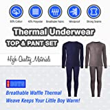 Only Boys 2-Pack Thermal Warm Underwear Top and