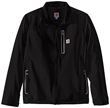 3999a4ce1a9c1 Carhartt Men's Big & Tall Denwood Soft Shell Jacket,Black,Large Tall