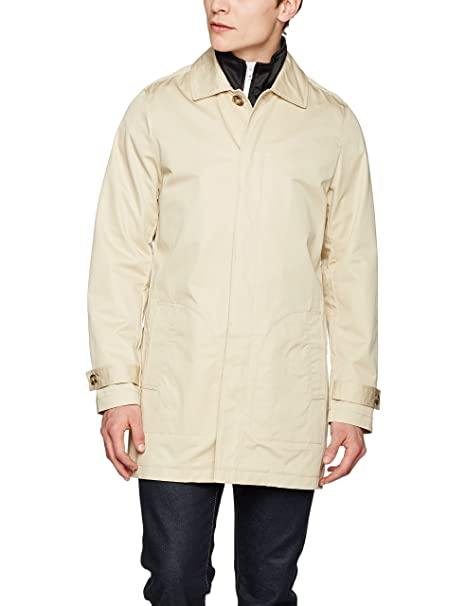 Urban Classics Gabardine Coat, Abrigo para Hombre: Amazon.es: Ropa y accesorios