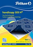 Pelikan Pack de 100 feuilles de papier carbone A4 (Bleu)