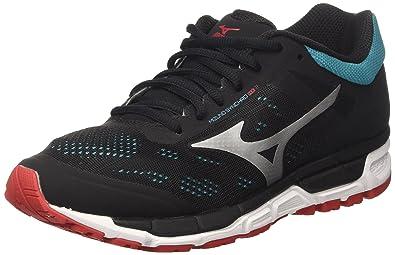 Mizuno Synchro MX, Chaussures de Running Homme, Multicolore (Limepunch/Blueaster/Jasminegreen), 44.5 EU