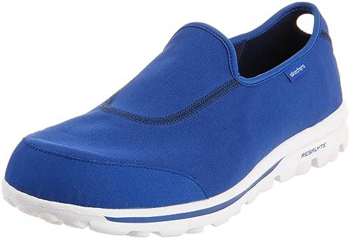 Skechers - Mocasines para Hombre Azul Azul: Amazon.es: Zapatos y complementos