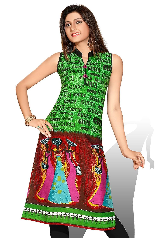 AmzG Trends Indian Kurtis for women and Girls Tunics Designer Kurti