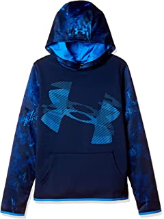 2474f77ee Amazon.com: Under Armour Boys' Armour Fleece Hoodie: Clothing