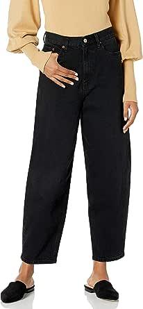 The Drop Women's Zoe Balloon Leg Shape High-Rise Jean