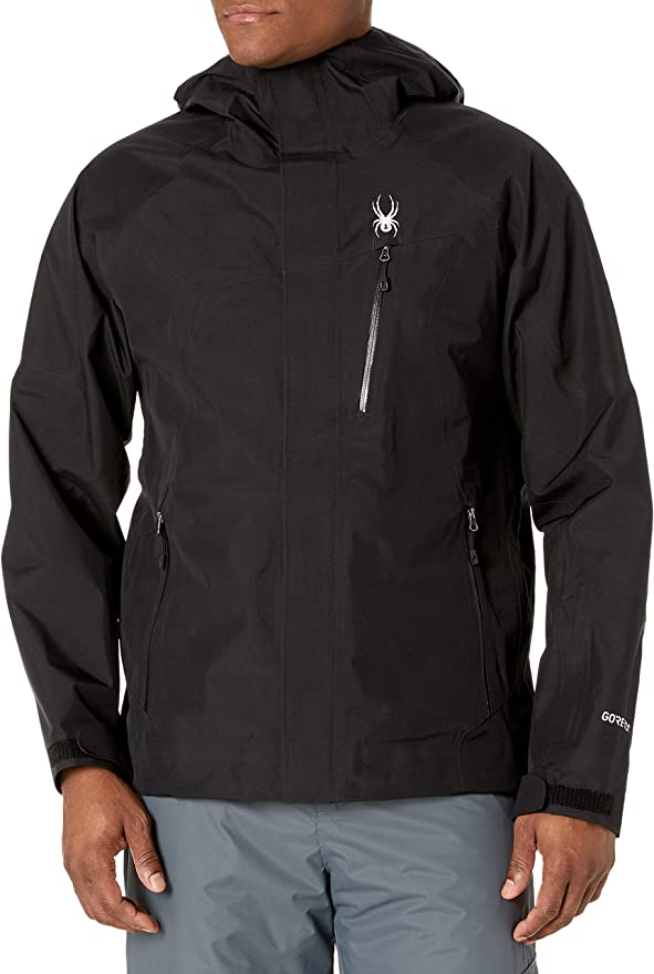 FASHION#CC Snowboarder Jumping Front Mountain Mens Pullover Hoodie Coat with Pockets