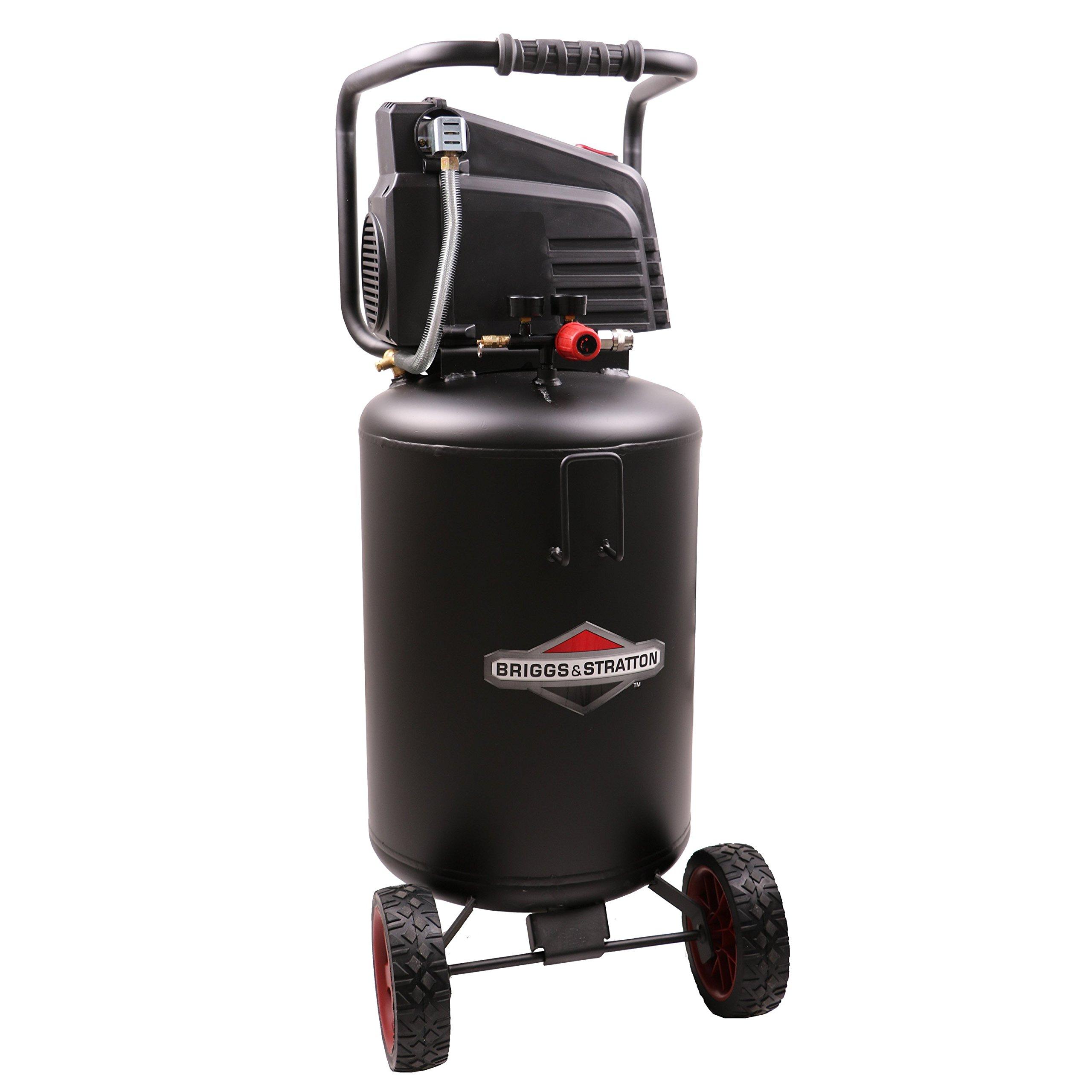 Briggs & Stratton 20-Gallon Air Compressor, Vertical 074064-00 by Briggs & Stratton