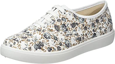 Hotter Womens Tara Extra Wide Slip On Trainers