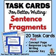 TASK CARDS for BETTER WRITING: Sentence Fragments