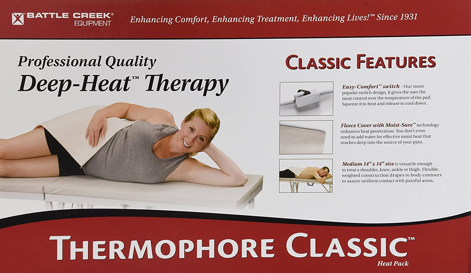 Thermophore Heating Pad, Medium, 14 Inch x 14 Inch