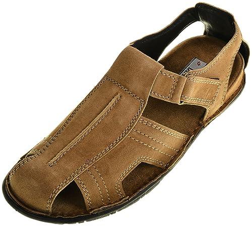 Binu top Men's Brown Leather Outdoor