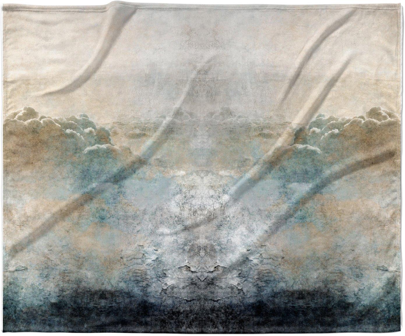 40 x 30 KESS InHouse Pia Heaven II Mixed Mediia Abstract Fleece Baby Blanket