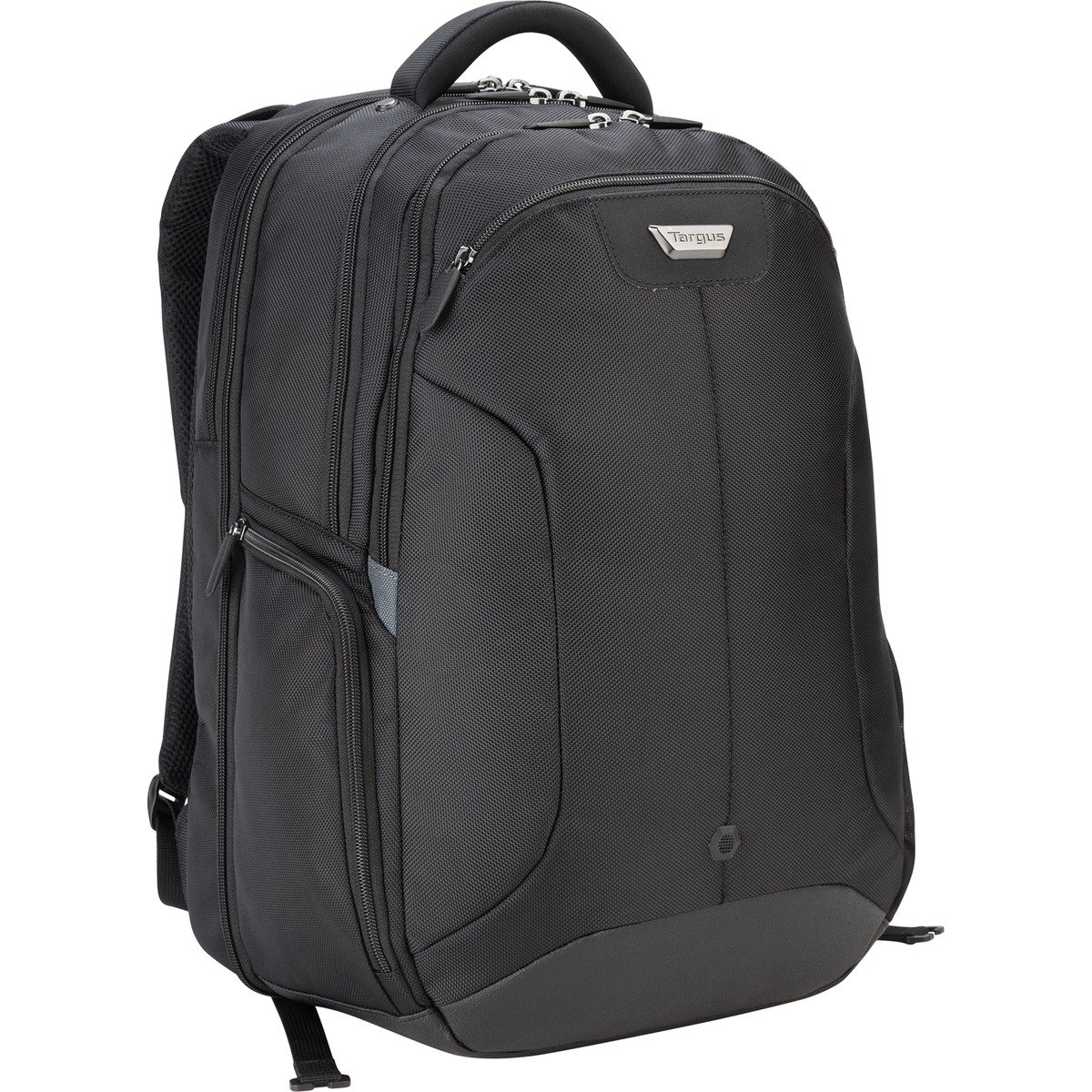 Targus Corporate Traveler Checkpoint-Friendly Professional Business Laptop Backpack with Protective Sleeve for 16-Inch Laptop, Black (CUCT02B) by Targus