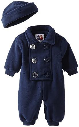 37dbe4d2d49b Amazon.com  Good Lad Baby-Boys Newborn 1 Piece Peacoat