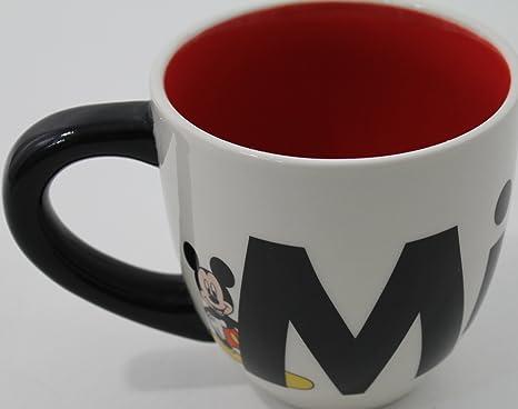 Los parques Disney gigante tipo Mickey Mouse taza de café ...