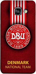 ColorKing Football Denmark 07 Red shell case cover for Samsung A5 2016
