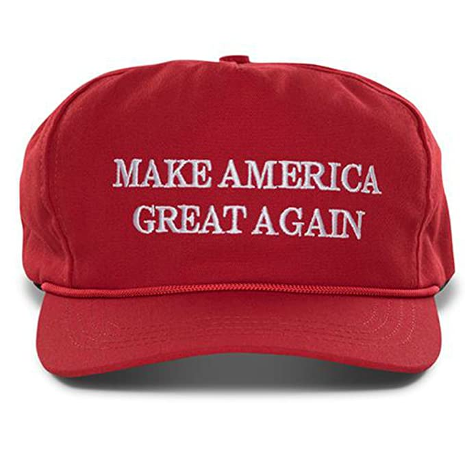 69fc5e81119 Image Unavailable. Image not available for. Color  Authentic Official  Donald Trump Make America Great Again Hat- Red