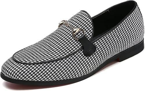 Amazon.com: Zapatillas de conducción para hombre, diseño ...