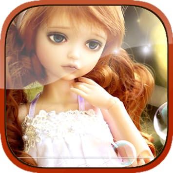 Beautiful Doll Interactive Live Wallpaper