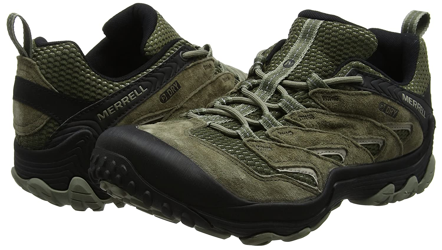 Amazon.com | Merrell Chameleon 7 Limit WTPF Walking Shoes 9.5 D(M) US Dusty Olive | Hiking Shoes