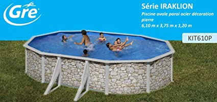 San Marina Pools - Piscina De Chapa Iraklion 610 X 375 X 120 Cm + ...