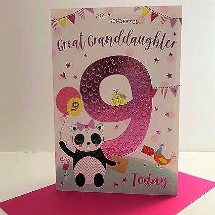ICG Wonderful - Tarjeta de felicitación de cumpleaños para ...