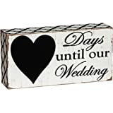 "Countdown ""Days Until Our Wedding"" Chalkboard"