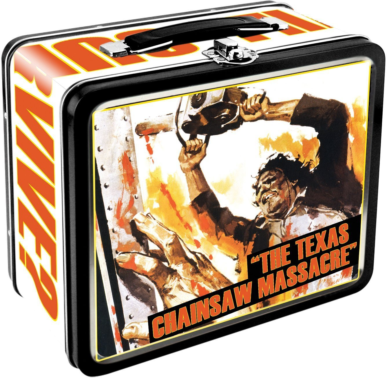 Aquarius Texas Chainsaw Massacre Large Tin Fun Box