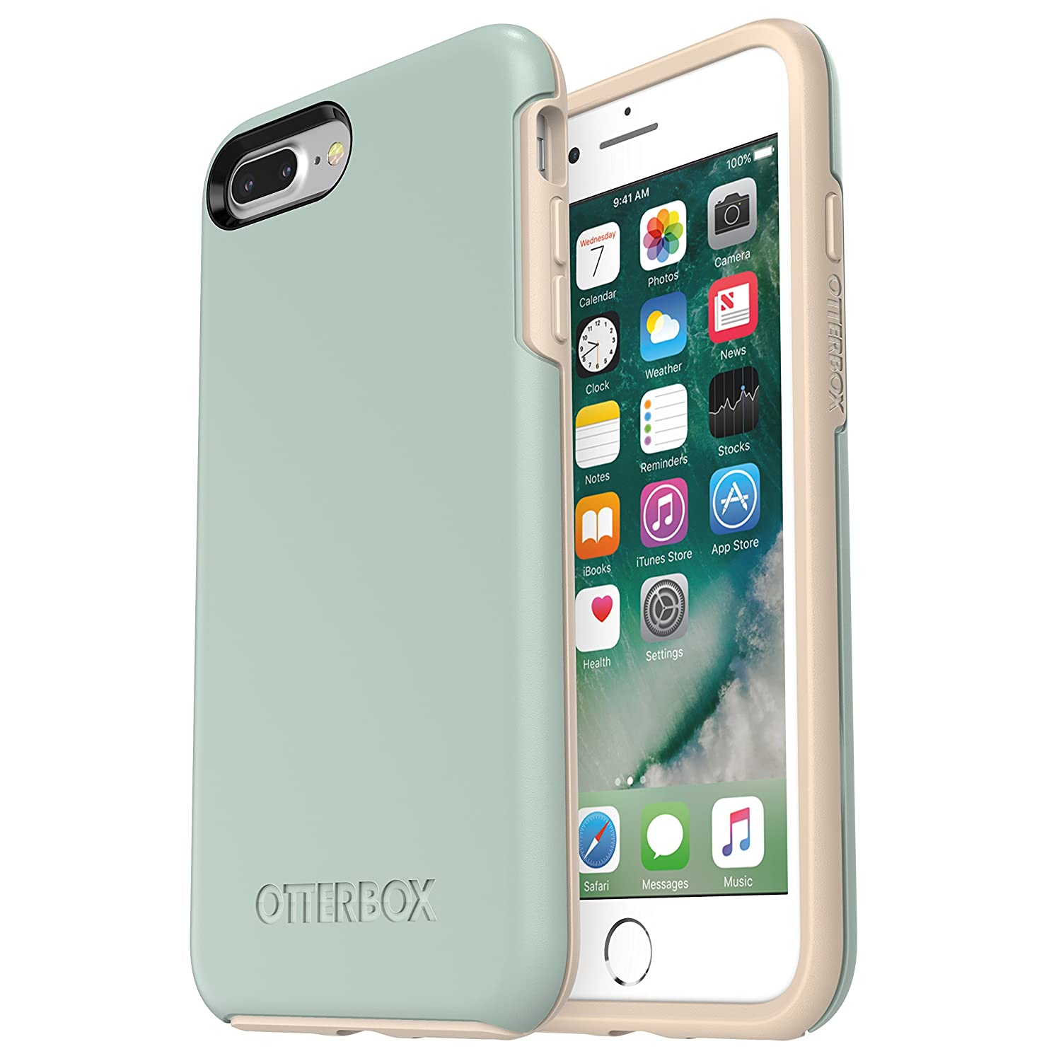 Amazon.com: OtterBox SYMMETRY SERIES Case for iPhone 8 Plus & iPhone ...