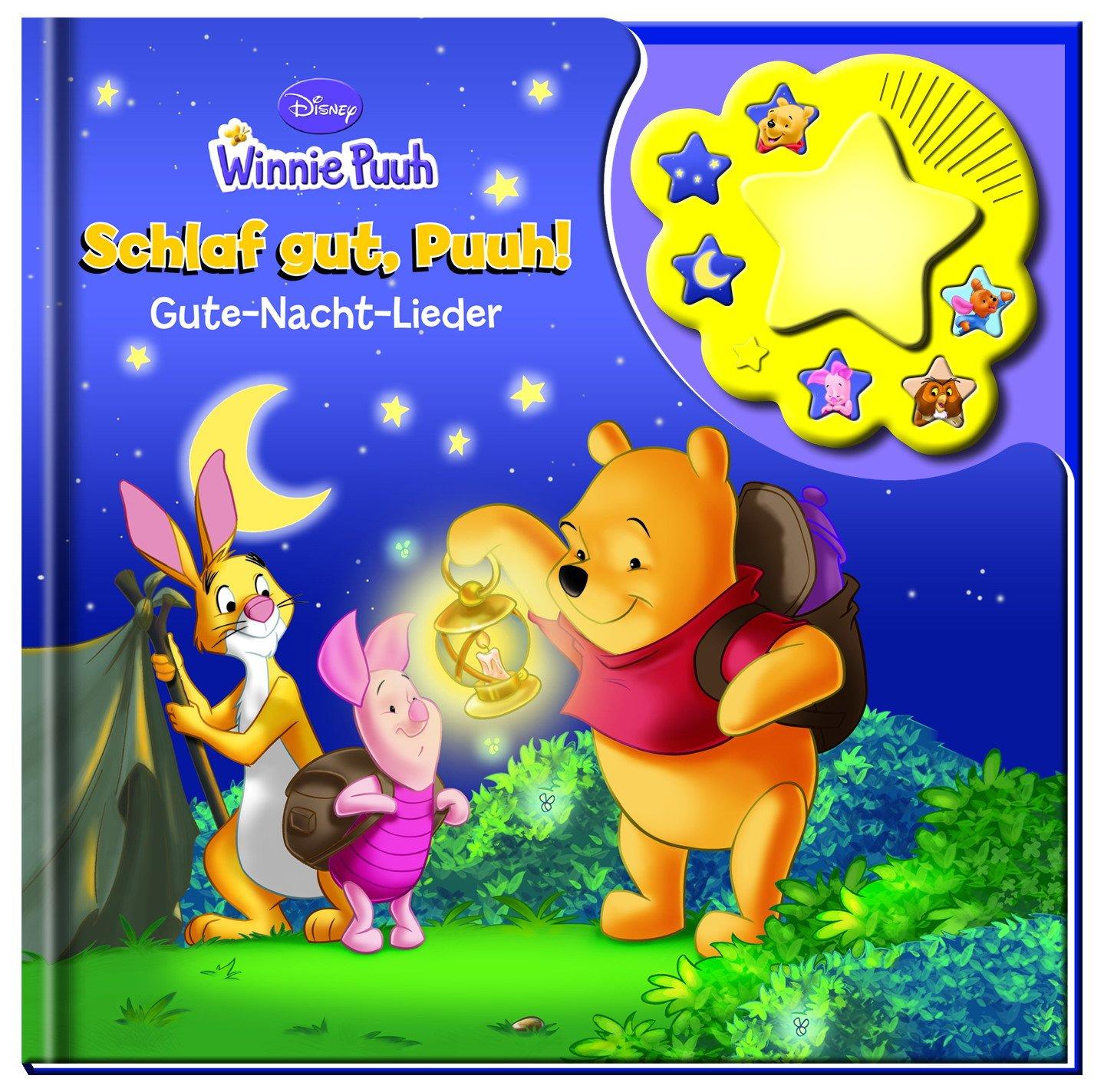 Winnie Puuh, Schlaf gut, Puuh!: Gute-Nacht-Lieder