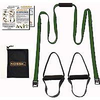 NOSSK Home Suspension Bodyweight Entraîneur de Fitness (Olive Drab)