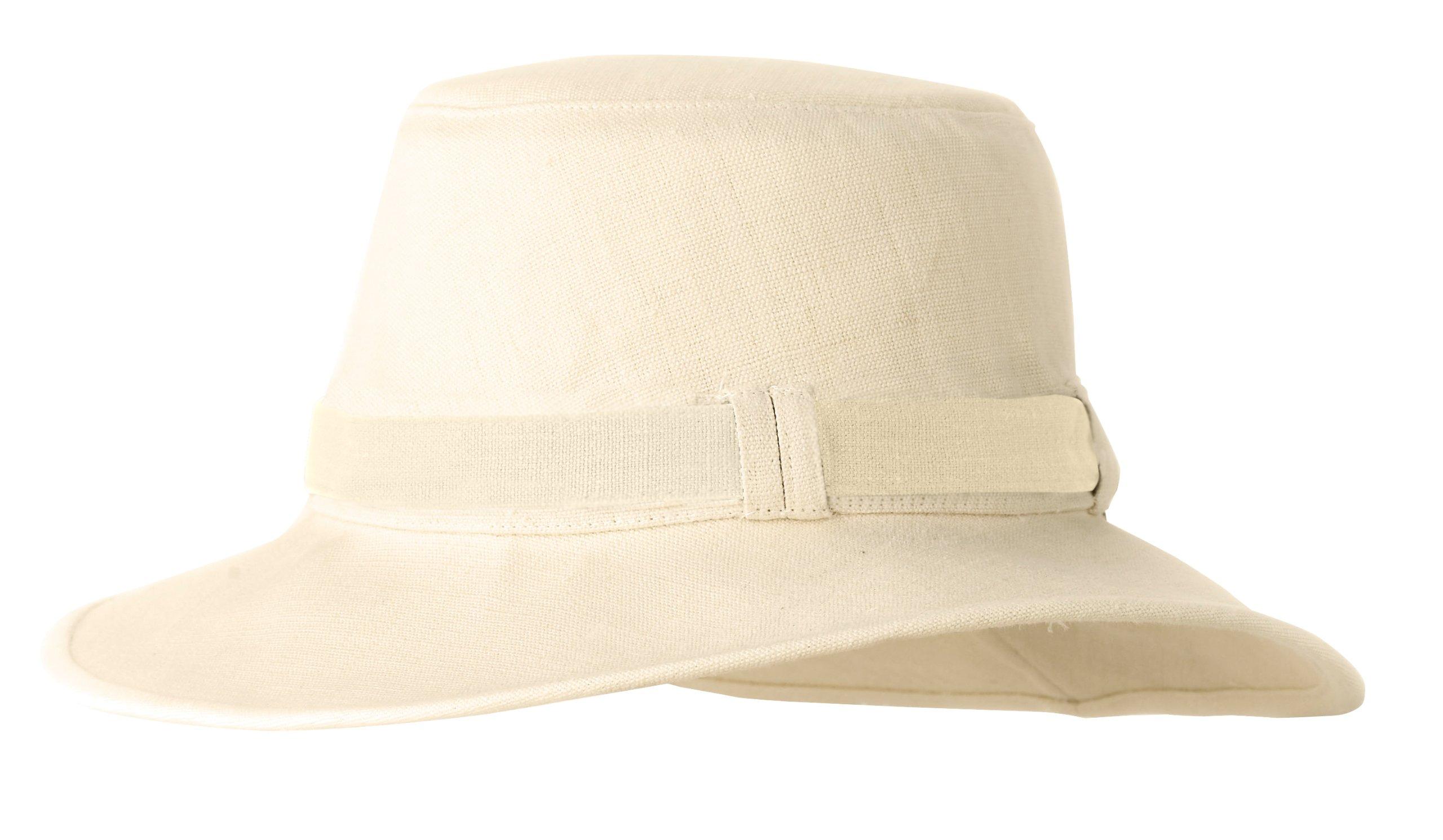 Tilley Endurables TH9 Women'S Hemp Hat,Natural,XL (7 5/8-7 3/4) by Tilley