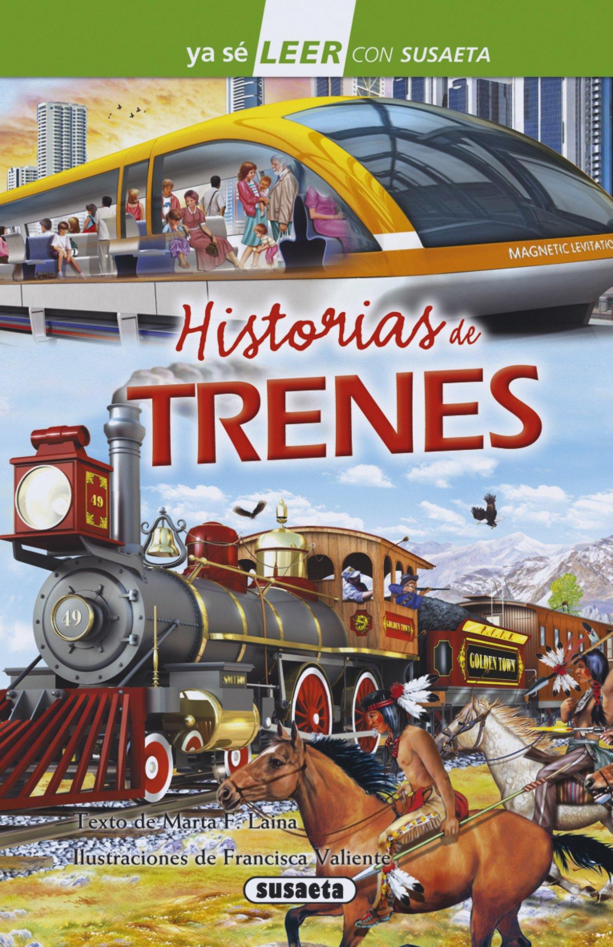 Historias de trenes Ya sé LEER con Susaeta - nivel 2: Amazon.es ...
