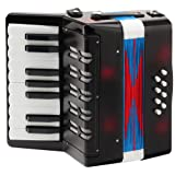 Classic Cantabile Bambino Children's Accordion 8 Basses - Black