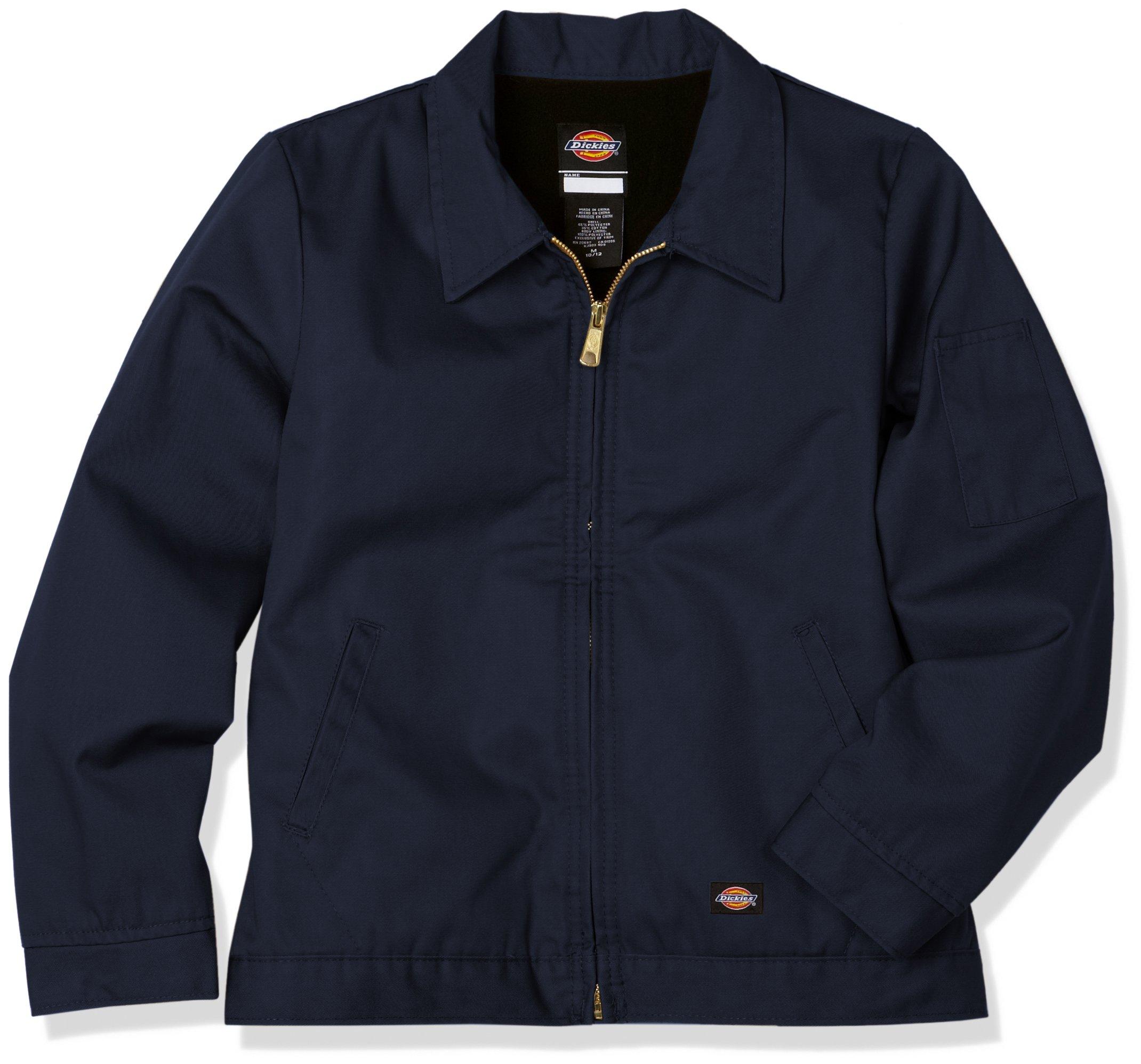 Dickies Big Boys' Eisenhower Jacket, Dark Navy, XL by Dickies