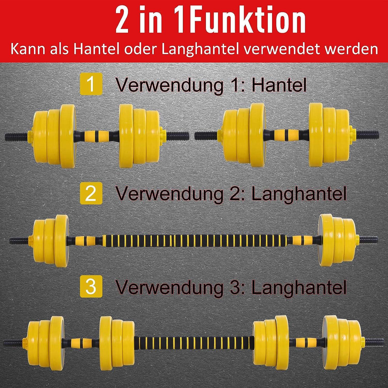 arthomer Hantel-Langhantel-Lagerregal,Kompaktes Hantel Stahlgestell F/ür Das Heim-Fitnessstudio,34 X26x 10 cm