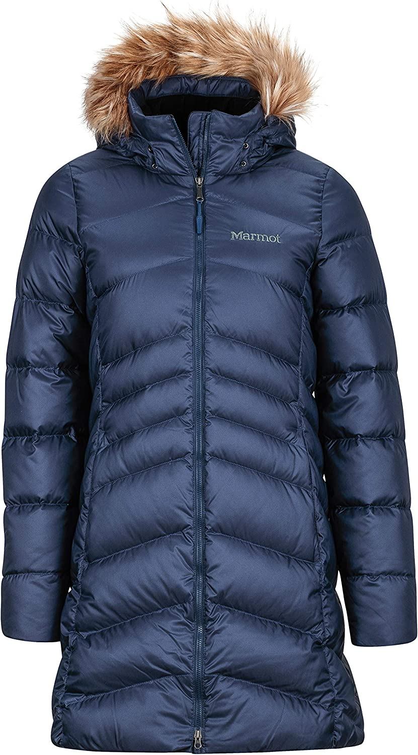 Marmot Women's Montreal Knee-length Down Puffer Coat: Clothing